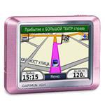 GPS навигатор Garmin nuvi 200 Pink Metallic + Дороги Росси 5.13 (63 областей) + ЗУ от сети 220в в Подарок.