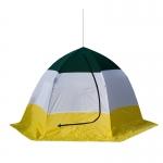 """Палатка для зимней рыбалки Стэк """"ELITE"""" трёхместная дышащяя"""