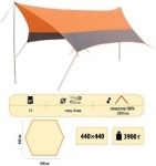 Тент Sol tent orange