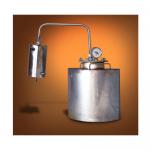 Дистиллятор проточный 40 с сухопарником (Самогонный аппарат)