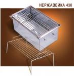 Коптильня Эконом 400х250х200