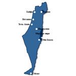 Израиль GPS-карта для навигаторов GARMIN
