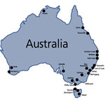 Garmin карта Австралии - City Navigator Australia 2008 NT
