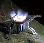 Туристическая мультитопливная горелка KB-0603 Booster+1