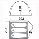 Палатка Greenell Эльф 3 v.2 (новинка)