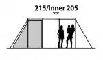Кемпинговая палатка Outwell Montana 6P