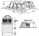 Кемпинговая палатка Outwell Biscayne 5