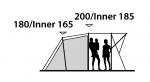 Кемпинговая палатка Outwell Birdland 4E