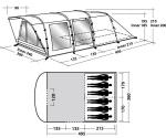 Кемпинговая палатка Easy Camp Boston 600 (Изи Кэмп Бостон 600)