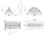 Одноместная палатка Marmot EOS 1P