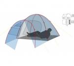 Туристическая палатка Canadian Camper FISH