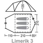 Палатка Greenell Лимерик 3