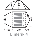 Палатка Greenell Лимерик 4