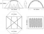 Кемпинговая палатка LIMESTONE 6P