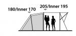 Кемпинговая палатка Outwell Montana 4E