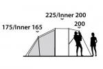 Кемпинговая палатка Outwell Oakland xl