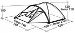 Туристическая  палатка Easy Camp PHANTOM 200 (Изи Кэмп Фантом 200)