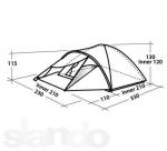 Туристическая  палатка Easy Camp PHANTOM 300 (Изи Кэмп Фантом 300)