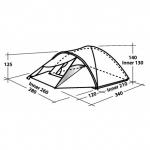 Туристическая  палатка Easy Camp PHANTOM 400 (Изи Кэмп Фантом 400)