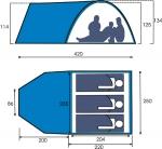 Туристическая палатка Maverick Itera
