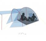 Кемпинговая палатка Canadian Camper RINO 5