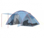 Кемпинговая палатка Canadian Camper SANA 4 plus
