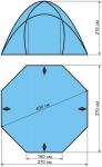 Туристический Тент-шатер Maverick Cosmos Compact