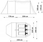 Кемпинговая Палатка Canadian Camper TANGA 3