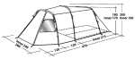 Кемпинговая  палатка Easy Camp WICHITA 400