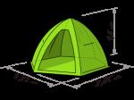 Палатка для зимней рыбалки LOTOS 4 Full(Лотос 4 усовершенствованная)